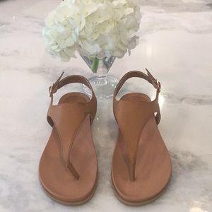 Shoes - 🔥🔥FLASH SALE🔥T-Strap Faux Vintage Leather Thong